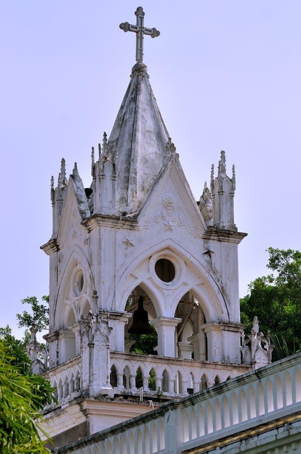 Gammal katolsk kyrka i Xiamen, söder av Kina arkivfoton