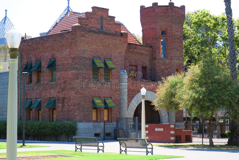 Gammal Kings County arrest royaltyfria bilder