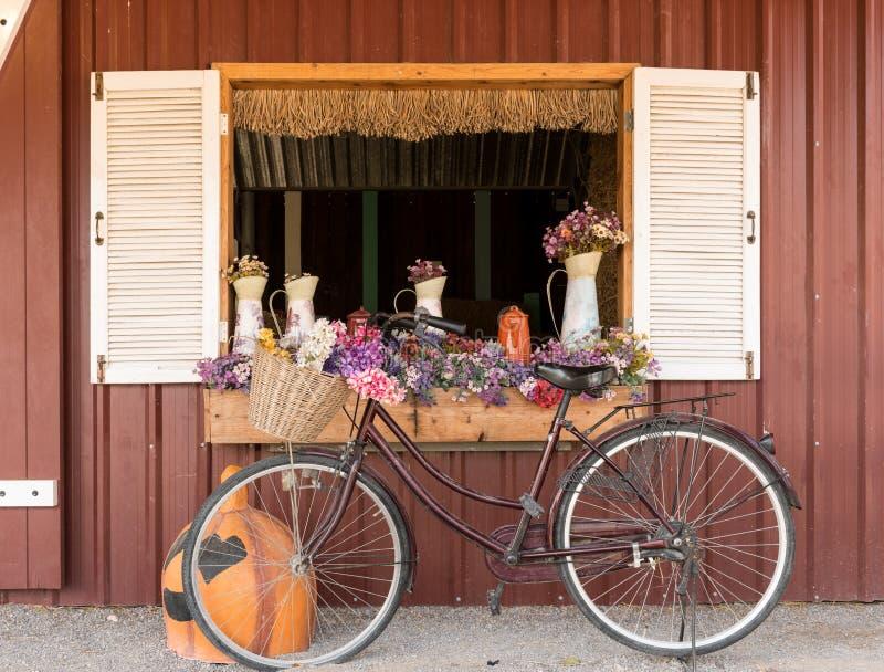 Gammal klassisk cykel fotografering för bildbyråer