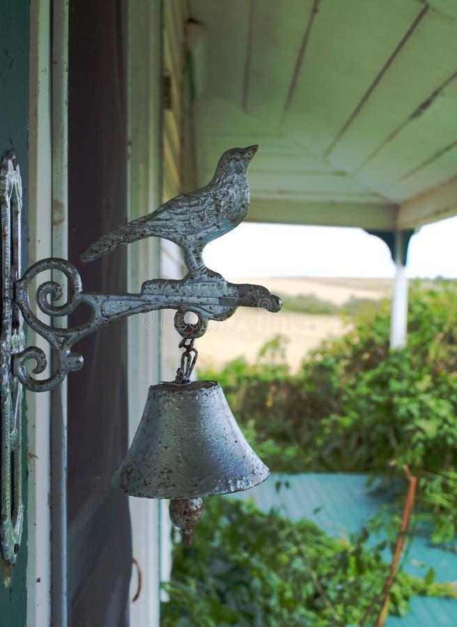 Gammal klocka, fågel, prins Edward Island, Kanada royaltyfria bilder