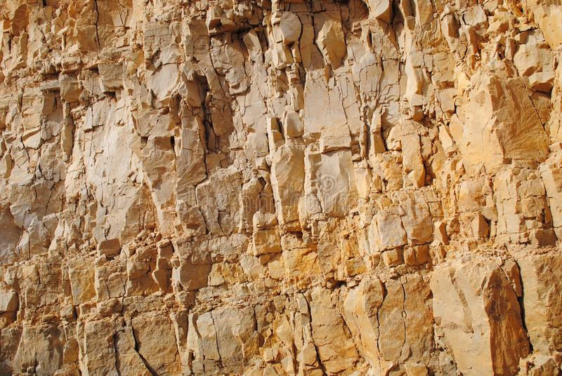 Gammal kloster i Jericho väggen royaltyfria foton