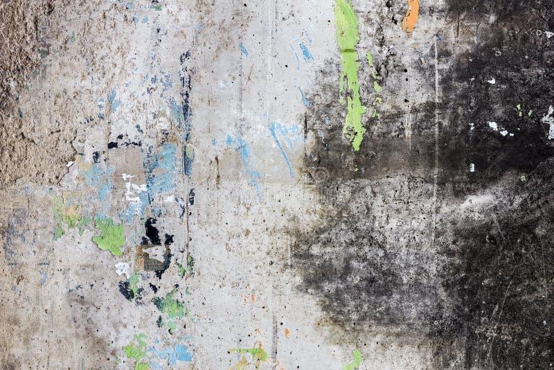 Gammal konkret textur för Grunge för abstrakt bakgrund royaltyfri fotografi