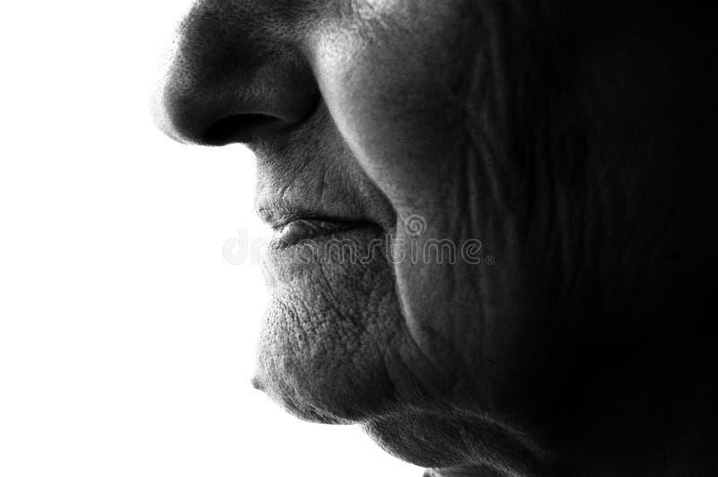 gammal kvinna royaltyfria foton