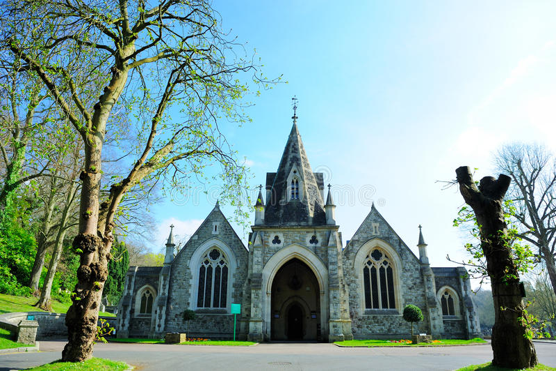 Gammal kyrka i London, England, UK royaltyfri bild