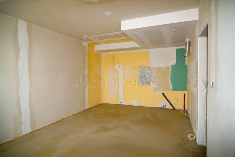 Gammal lägenhet arkivfoto