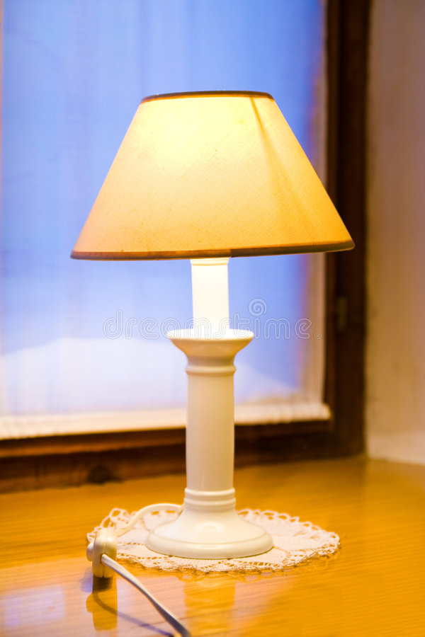 gammal lampa royaltyfri foto