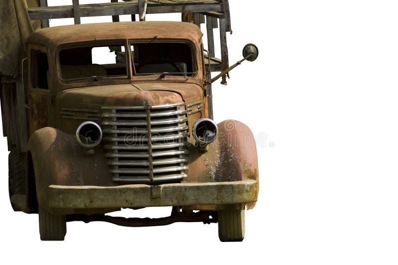 gammal lastbil 3 royaltyfri fotografi