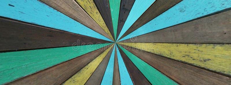 Gammal målad träbakgrund och textur royaltyfri fotografi