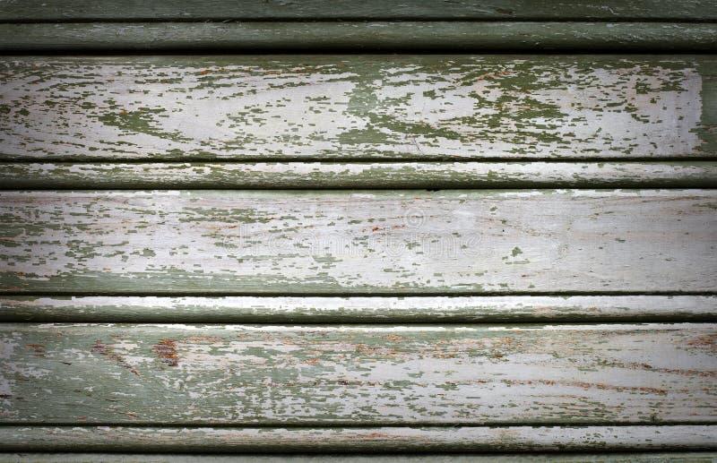 gammal målad trätappningvägg royaltyfri fotografi