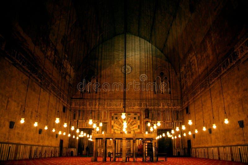 Gammal moské Egypten cairo arkivbild