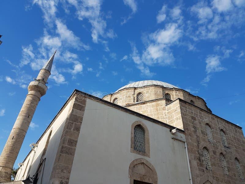 Gammal moské i Antalya arkivbilder