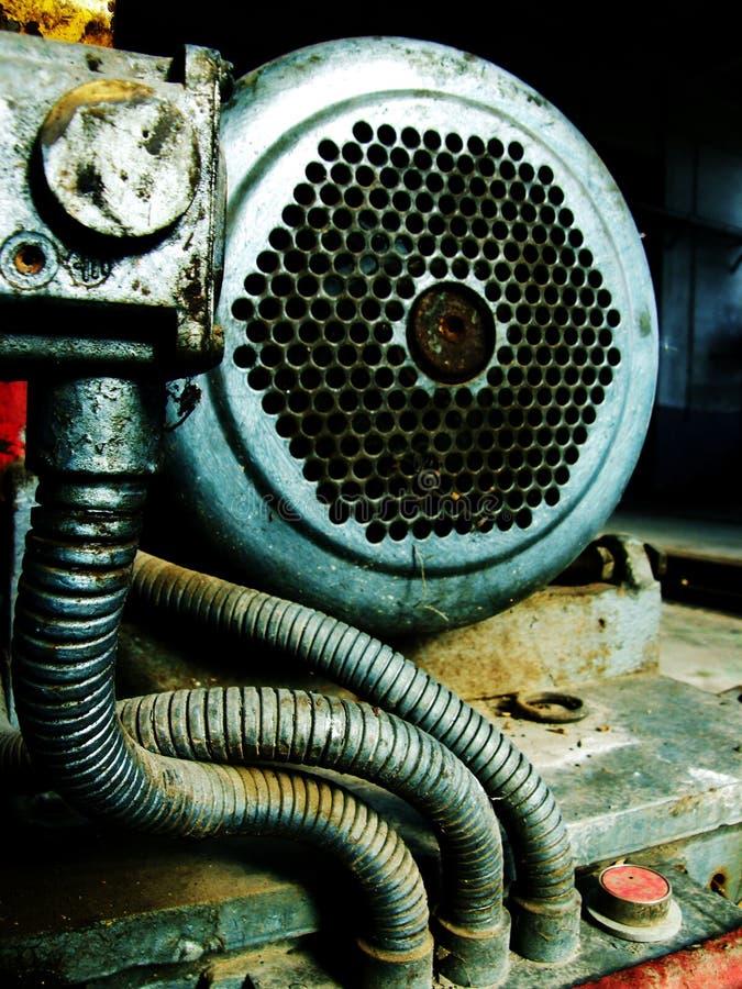 gammal motor arkivbild