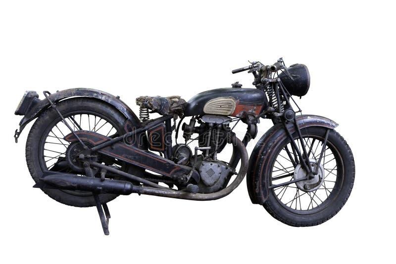 gammal motorbike royaltyfri fotografi