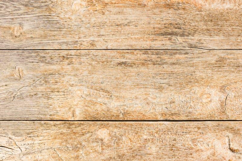 Gammal naturlig brun trätextur, närbild fotografering för bildbyråer