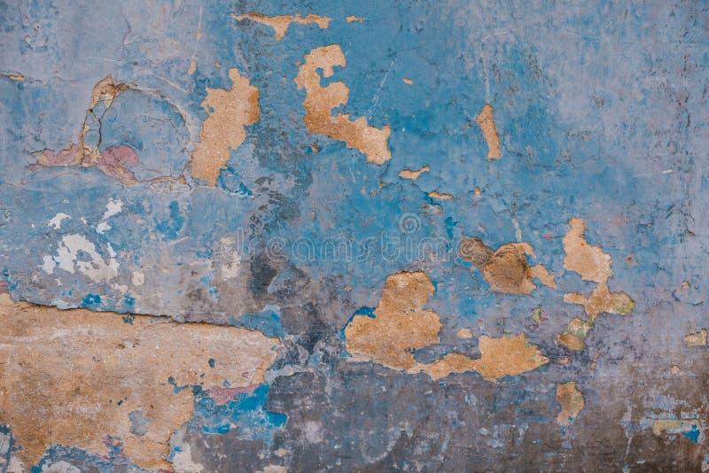 Gammal och smutsig bakgrund f?r cementv?ggtextur royaltyfri bild