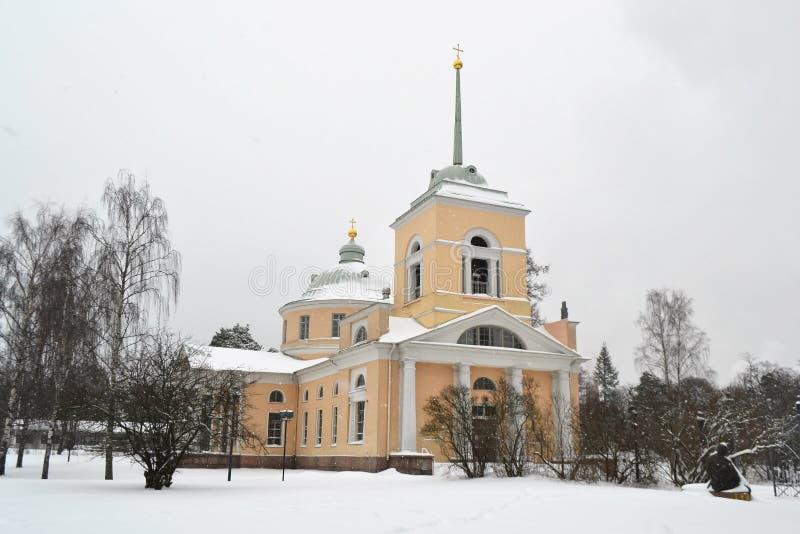 Gammal ortodox kyrka i Kotka arkivfoton