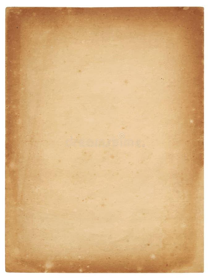gammal paper arkvektor för illustration royaltyfri fotografi