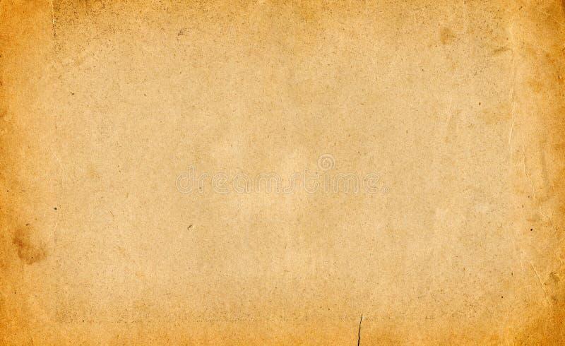 Gammal paper grungebakgrund royaltyfri foto