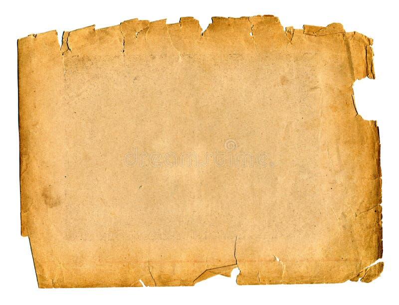 Gammal paper grungebakgrund arkivfoto