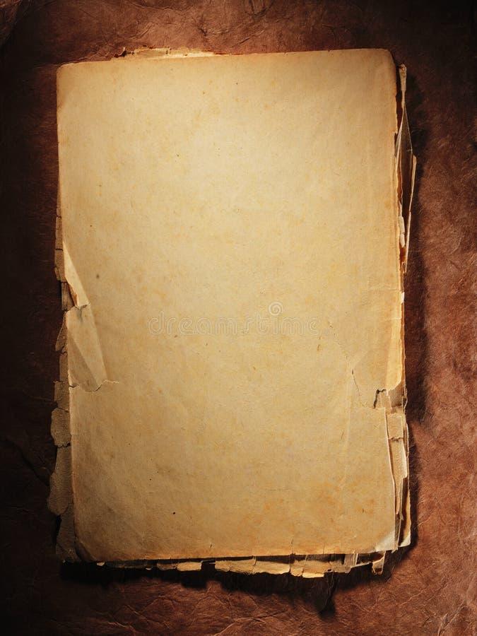 gammal paper red close upp royaltyfri bild