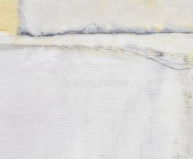 gammal paper textur pläterat papper på kanfas Idérik abstrakt hand målad bakgrund, tapet, textur göra sammandrag konst royaltyfri bild