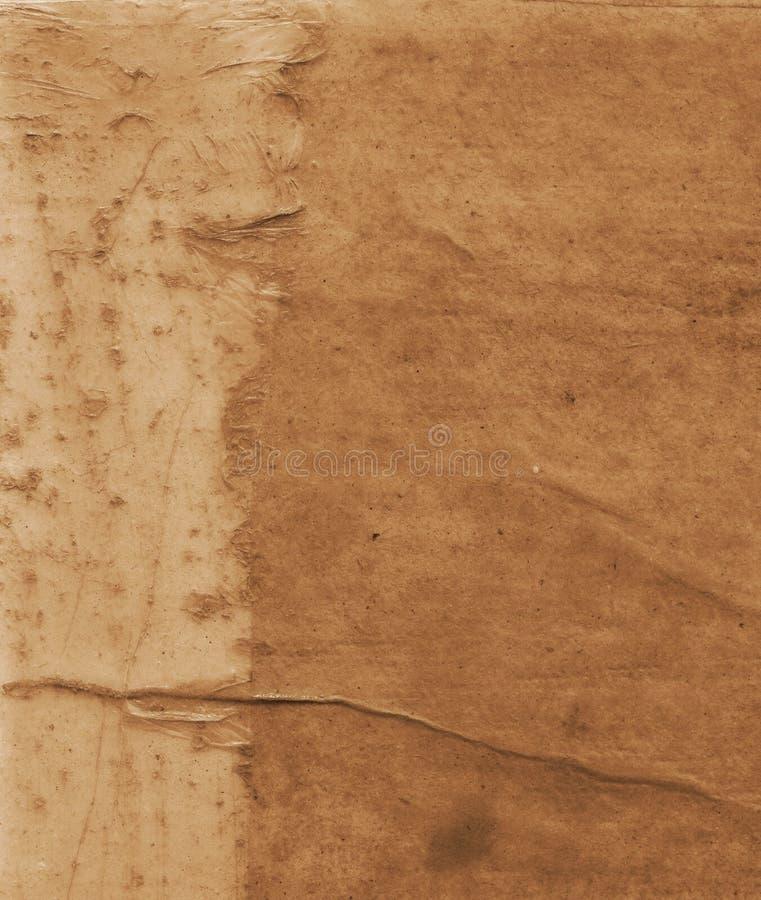 gammal paper textur pl?terat papper p? kanfas Id?rik abstrakt hand m?lad bakgrund, tapet, textur g?ra sammandrag konst arkivfoto