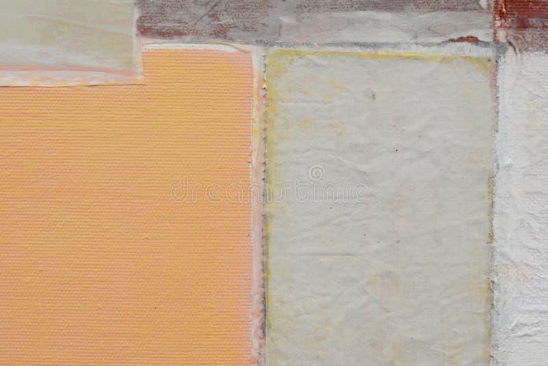 gammal paper textur pl?terat papper p? kanfas Id?rik abstrakt hand m?lad bakgrund, tapet, textur g?ra sammandrag konst royaltyfri foto