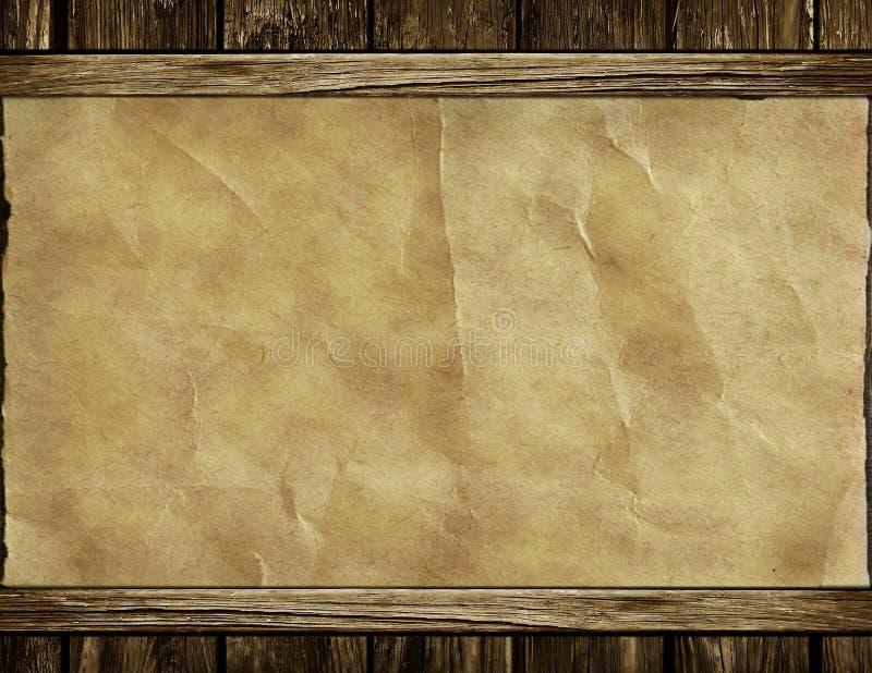 gammal paper texturvägg arkivbild