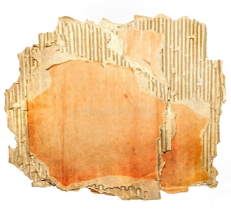 gammal paperboard arkivbilder