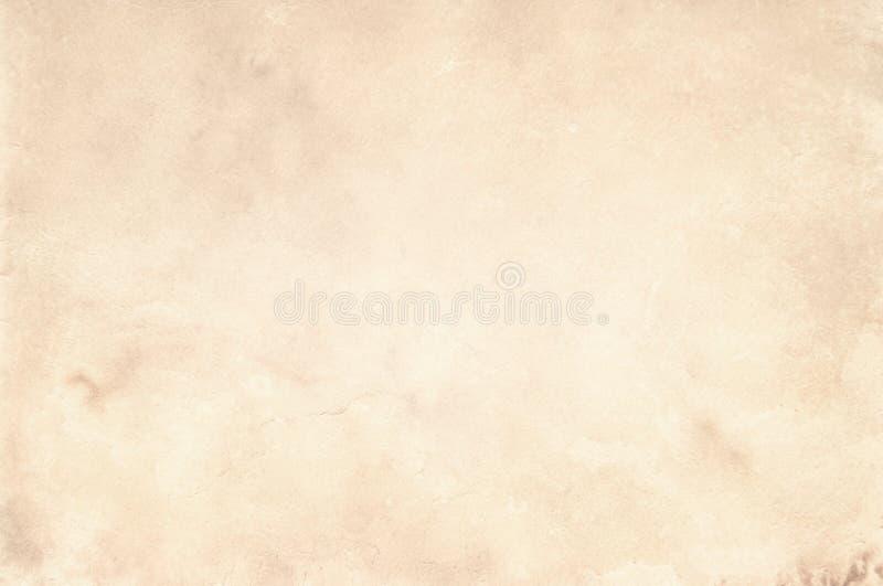 Gammal pappers- tappning åldras bakgrund eller textur royaltyfri fotografi