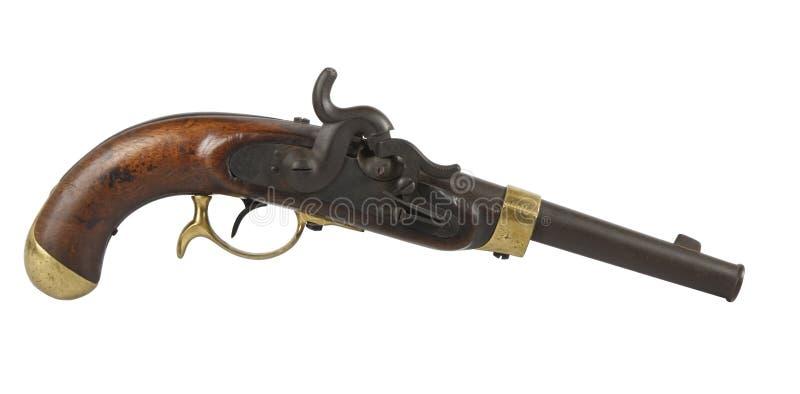 gammal pistol royaltyfria foton