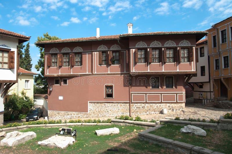 gammal plovdiv för bulgaria hus renässans royaltyfria foton