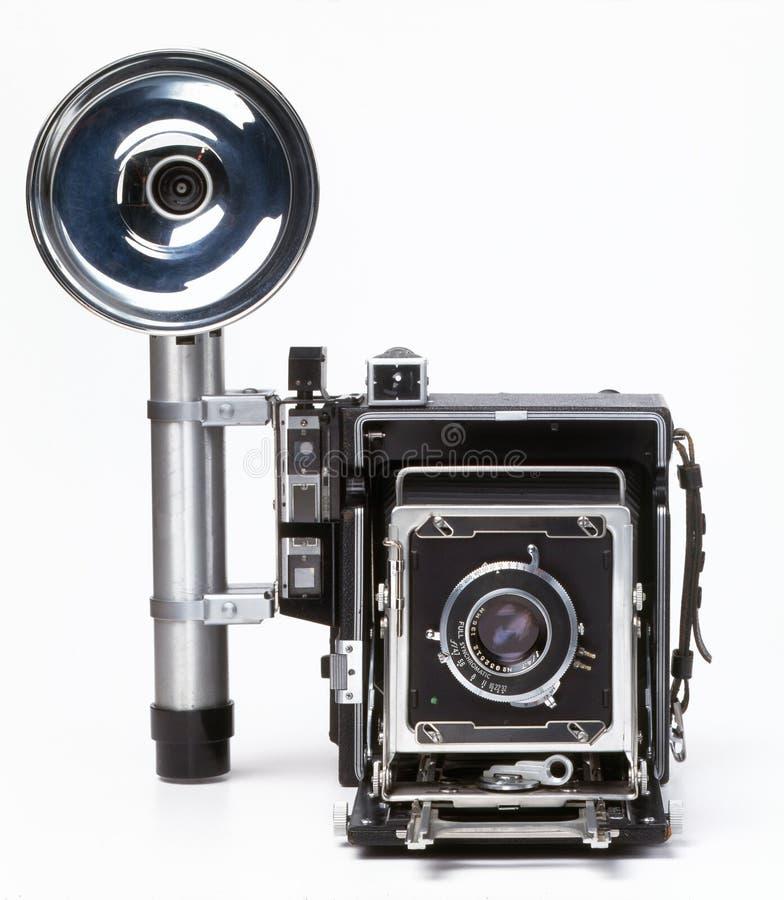 gammal press för kamera fotografering för bildbyråer