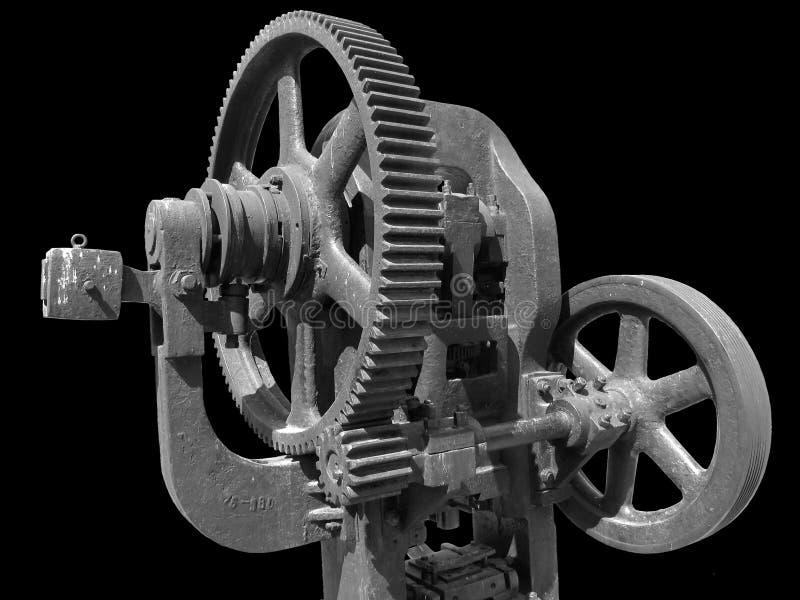 gammal press för smide arkivfoton
