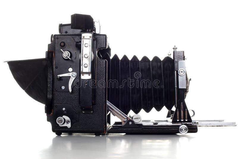 Gammal Presskamera för stort format royaltyfria bilder