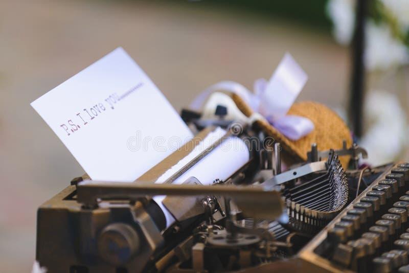 gammal printing för maskin arkivbilder