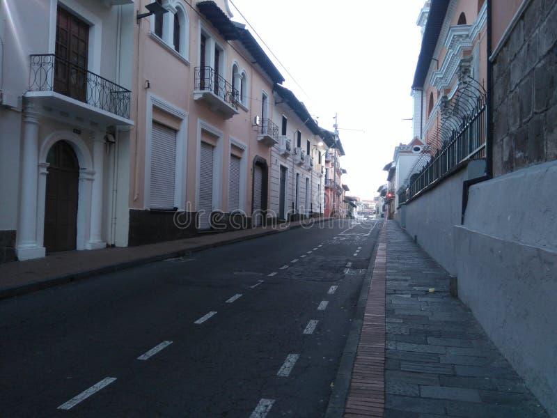 Gammal Quitostad royaltyfri foto