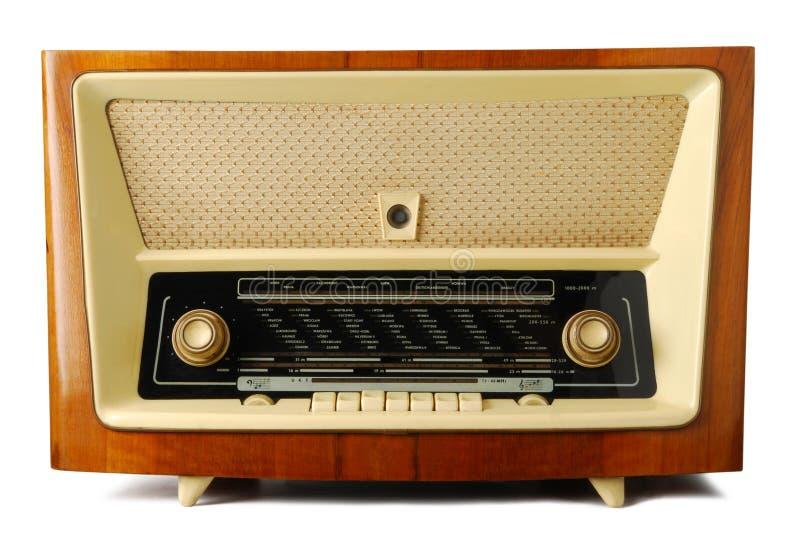 gammal radio royaltyfria foton