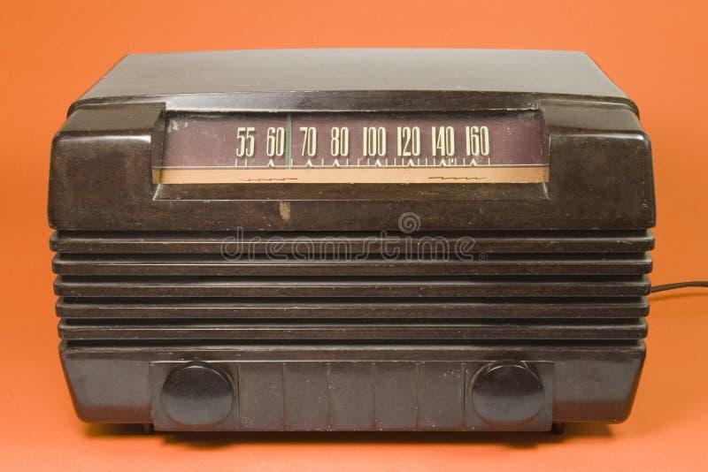 gammal radiotid royaltyfria bilder