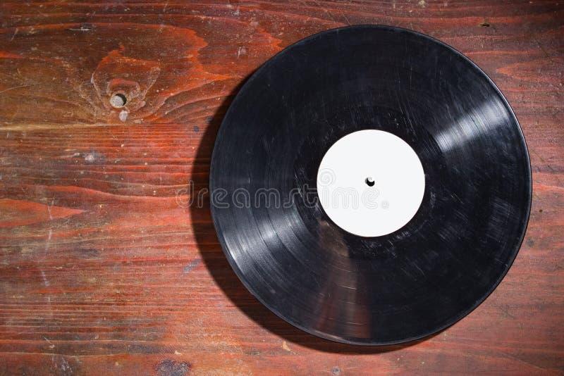 gammal registrerad vinyl royaltyfri fotografi