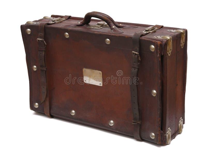 gammal resväska arkivbilder