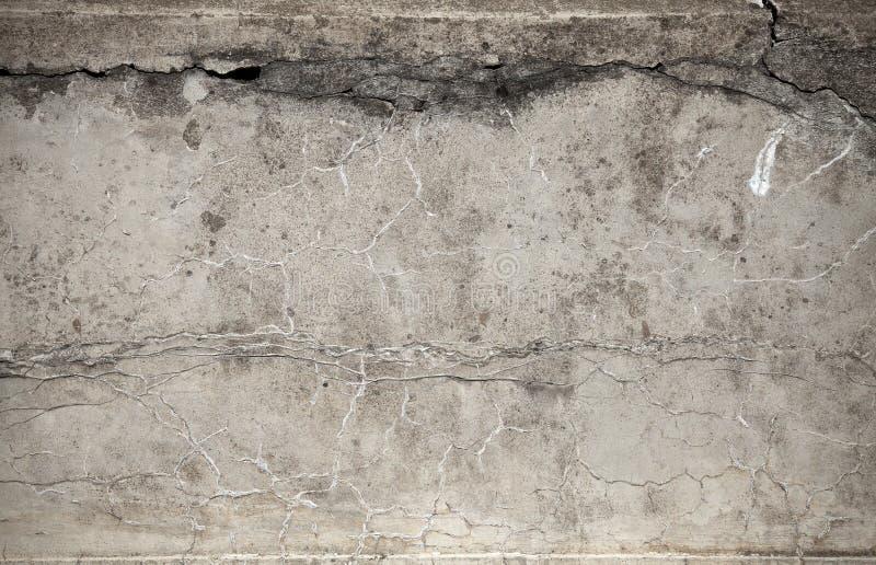 Gammal riden ut betongväggtextur arkivbild