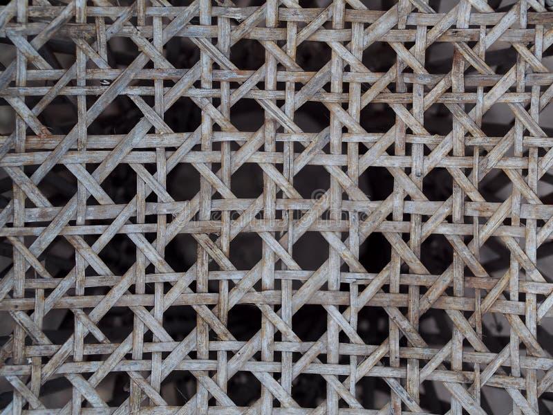 Gammal riden ut closeup för skörd för produktdesign på bambustrukturmodell arkivbild