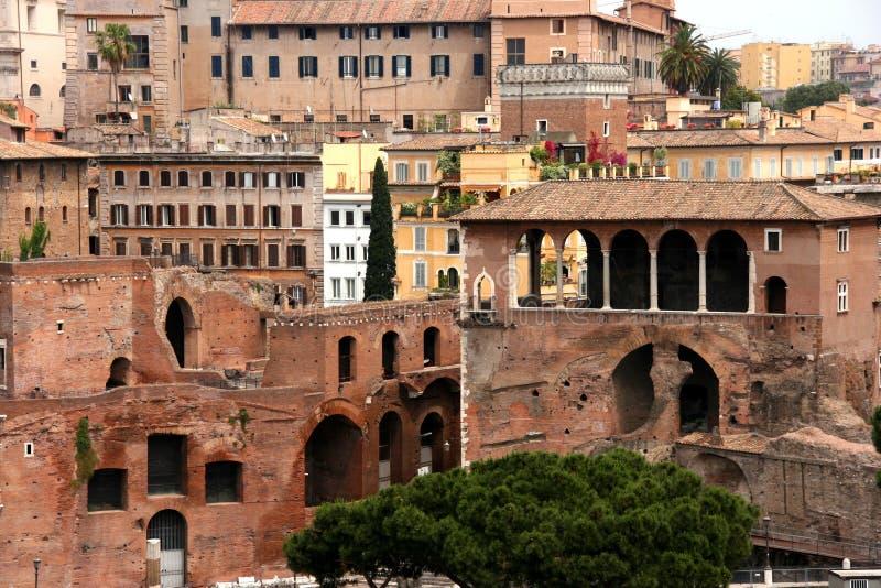 gammal rome town royaltyfri foto