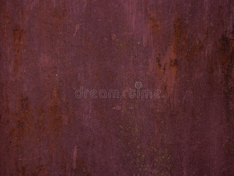 Gammal rostig metalltextur som bakgrund royaltyfria bilder