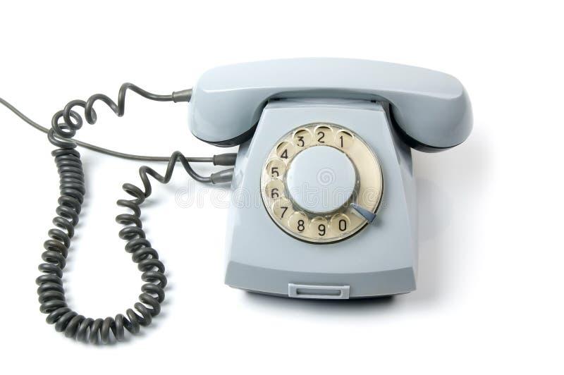 gammal roterande telefon arkivfoton