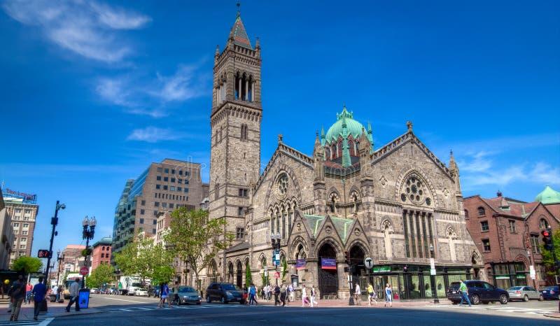 Gammal södra kyrka, Boston, MOR arkivbilder