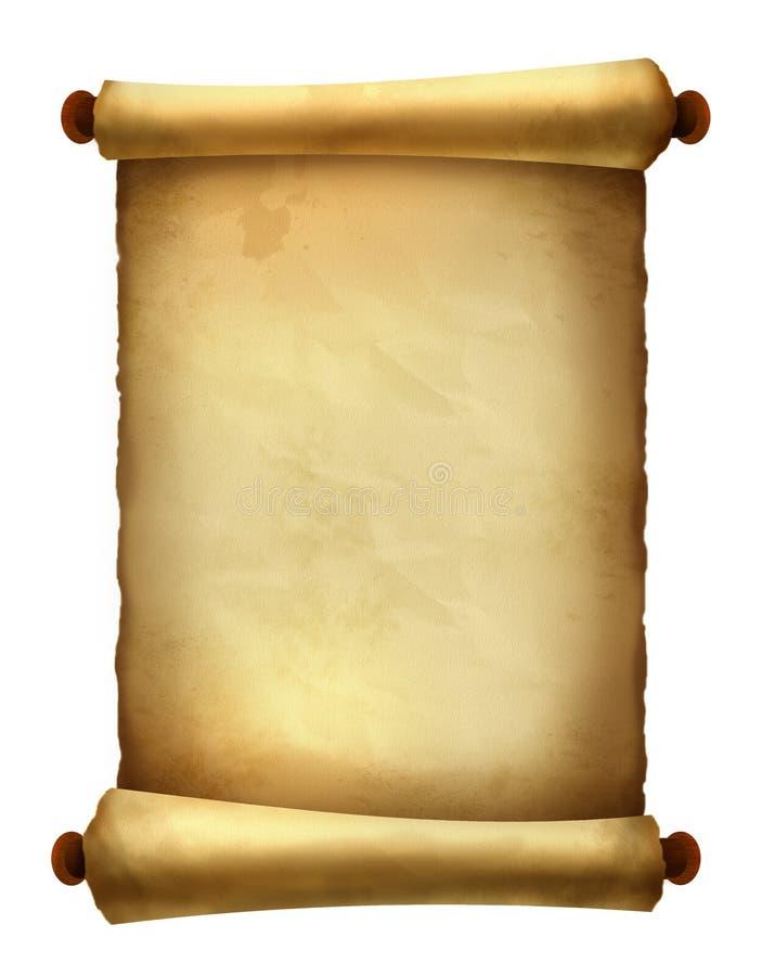 Gammal scroll