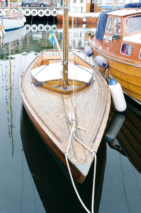 gammal segelbåt arkivfoto