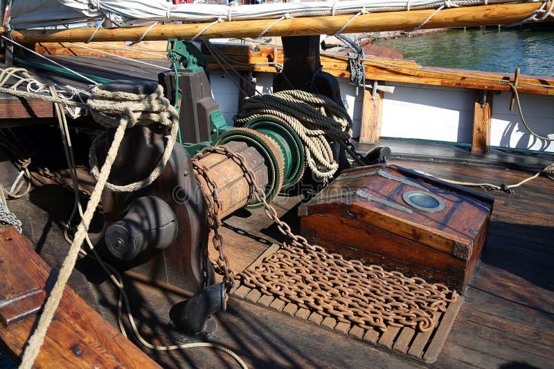gammal seglingship royaltyfria bilder